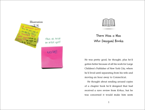 Chapterbook spread